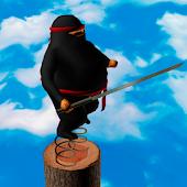 Fatty Ninja. Spring jumps