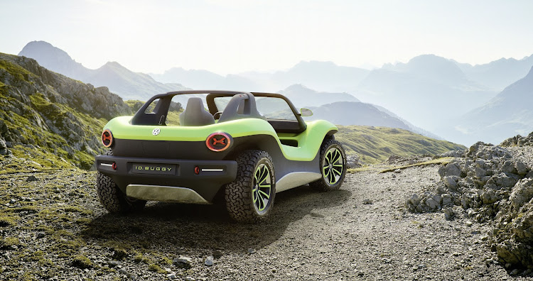 Volkswagen actively wants the ID Buggy to be driven off road. it has a useful 240mm ground clearance. Picture: SUPPLIED
