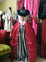 Photo: Gothic Marie Antoinette Costume (Rents with all 9 pieces, wig included! Reserve for parties or Halloween!)