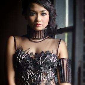 Dark Angel by Purnawan  Hadi - People Portraits of Women ( fashion photographer, model, fashion, indonesia, photography )