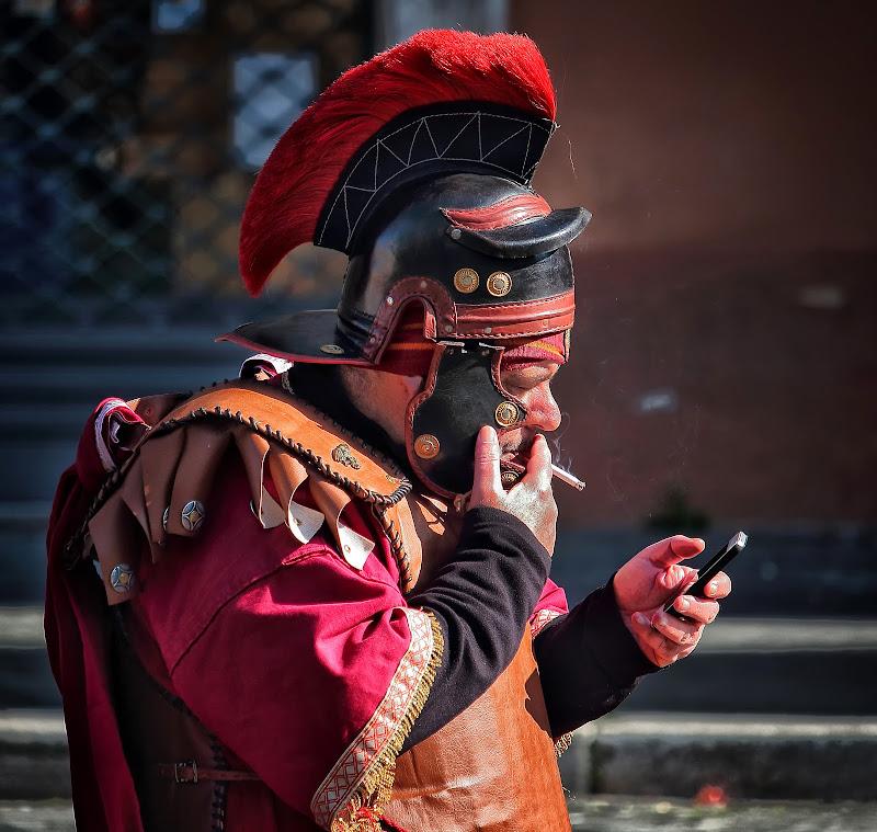 Un gladiatore 4.0 di romano