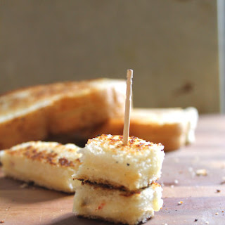 Spicy Grilled Cheese Skewers