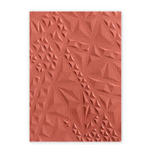 Sizzix 3-D Textured Impressions Embossing Folder - Geometric