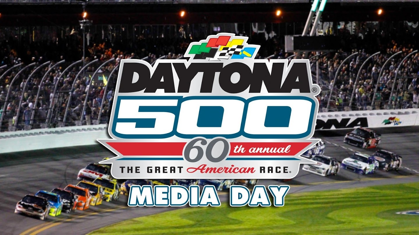 Watch Daytona 500 Media Day live