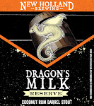 New Holland Dragon's Milk Reserve Coconut Rum