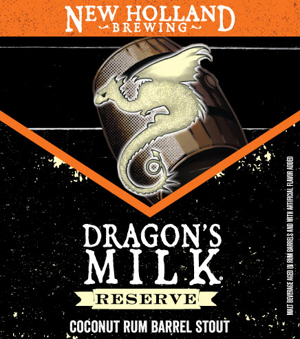 Logo of New Holland Dragon's Milk Reserve Coconut Rum