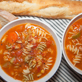 Vegan Noodle and Vegetable Soup Recipe