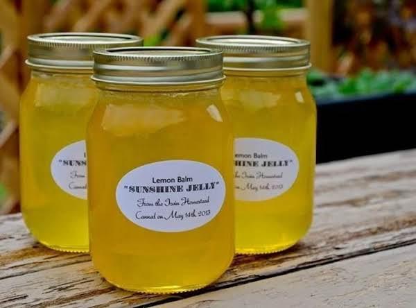 Lemon Balm Jelly Recipe