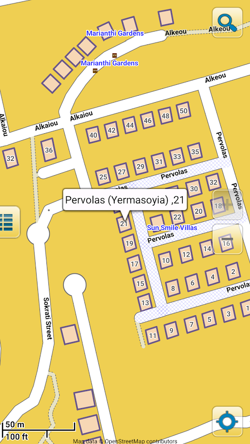 gps карта кипра на кпк: