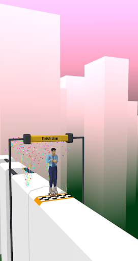 Sky Roller Skating - Rolling Balls  screenshots 4