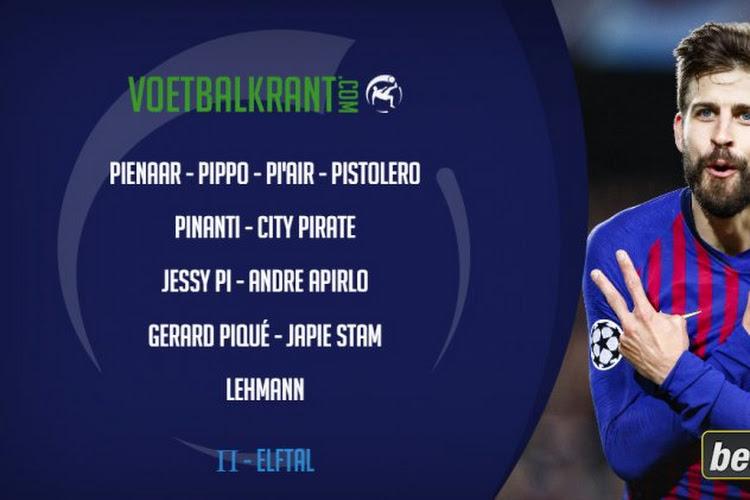 Ons Pi-dag elftal (14/3): Pienaar, Pirlo, Lehmann, Wim Reijers, ...