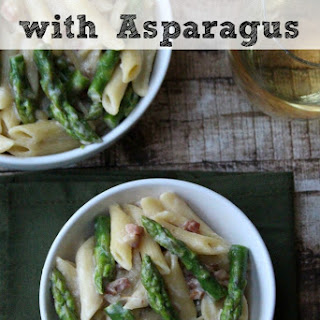 Carbonara Pasta with Asparagus