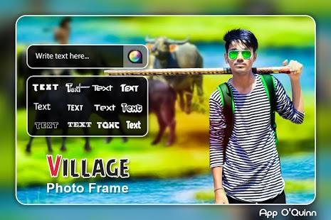 Village Photo Frame - náhled