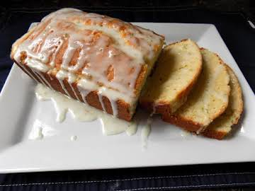 Lemon Lime Iced Pound Cake