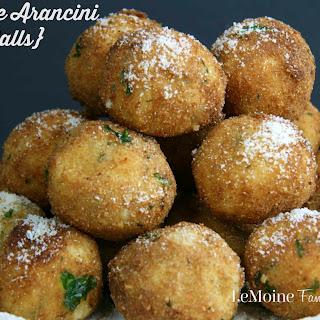 3 Cheese Arancini {Rice Balls}.