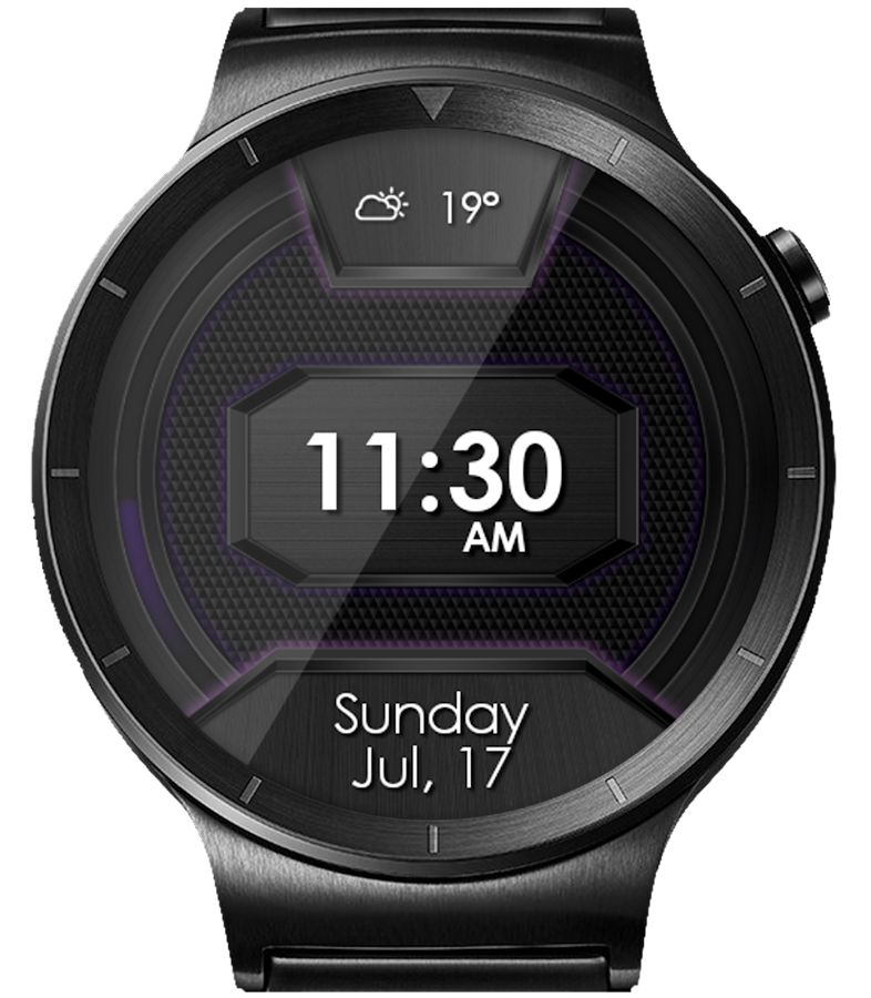 Daring Carbon HD Watch Face