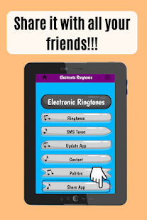 Electronic Ringtones, nice sounds for phone free - náhled