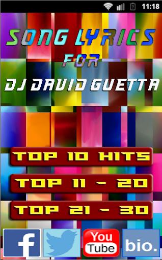 Hey Mama for DAVID GUETTA 2015