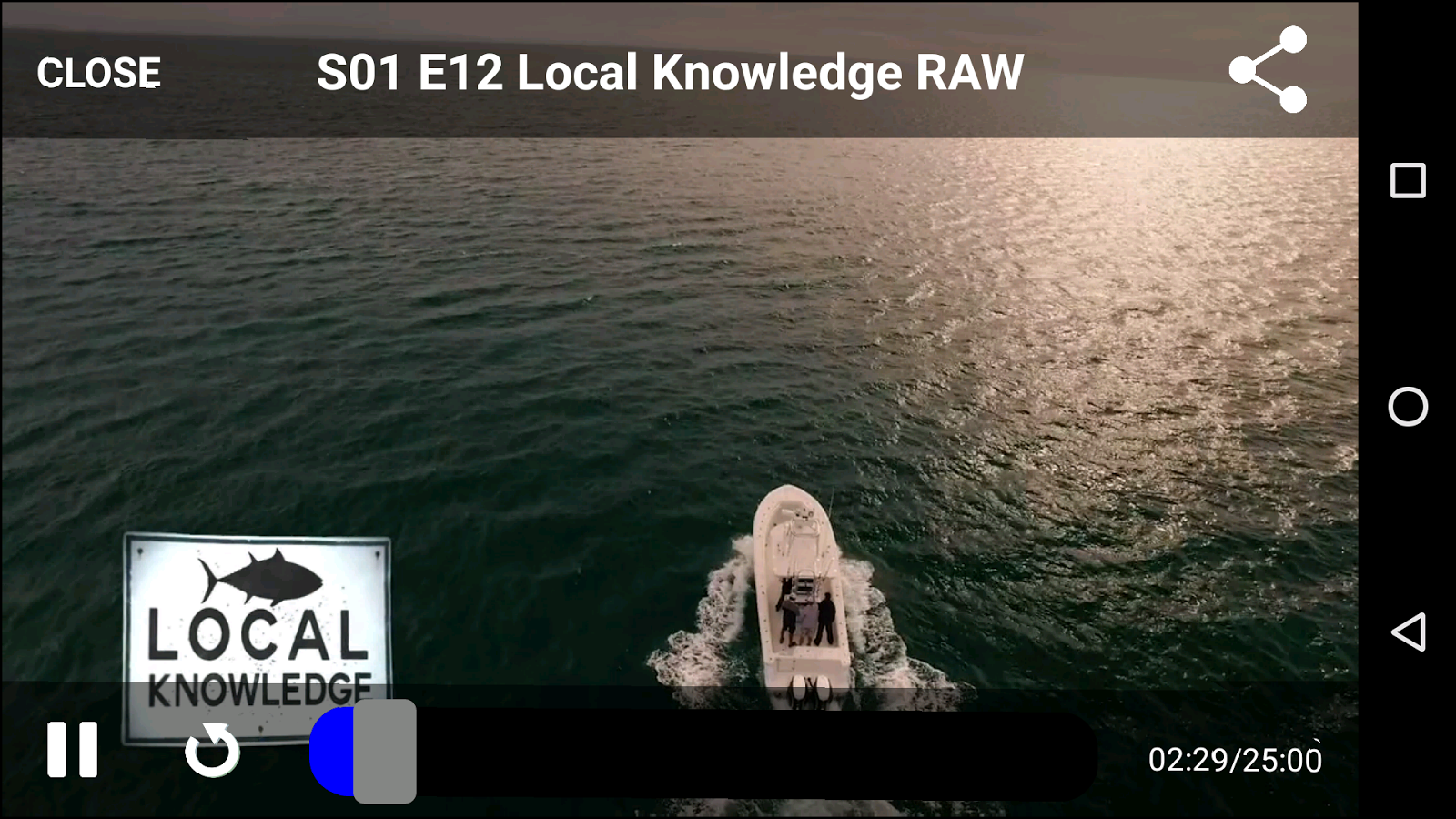 Local Knowledge Fishing Show- screenshot