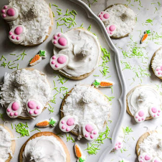 Easy Bunny Butt Easter Cookies Recipe