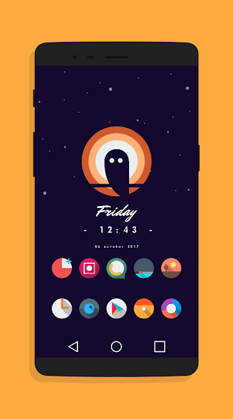 Let It Be O – Pixel 2 Minimalist Icon Pack v1.7 [Patched]