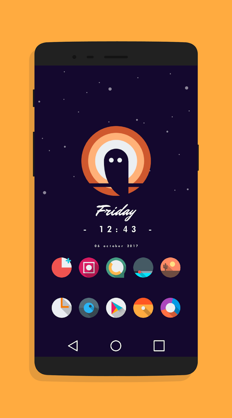 LetItBeO - Pixel 2 Minimalist Icon Pack (SALE) Screenshot 5