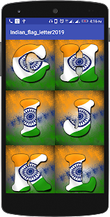 Download INDIAN FLAG LETTER For PC Windows and Mac apk screenshot 3