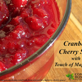 Tart Cherry Sauce Recipes
