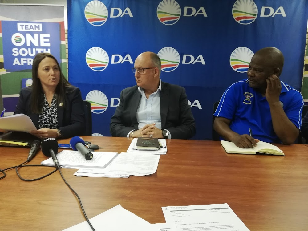 Put Nelson Mandela Bay under administration - DA