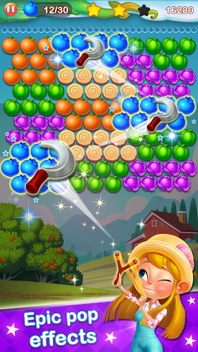 Bubble Farm - Fruit Garden Pop screenshots 5