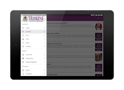 Nigerian Tribune Mobile- screenshot thumbnail