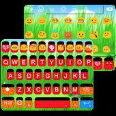 Ladybug Emoji Keyboard Theme