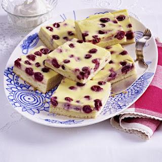 Creamy Cherry Squares