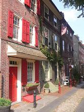 Photo: Elfreth' alley, plus vieille rue d'Amérique