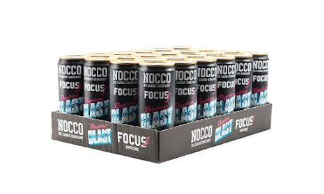 NOCCO Focus Raspberry Blast 330ml - 24st