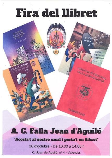 Fira del Llibret en Joan d'Aguiló