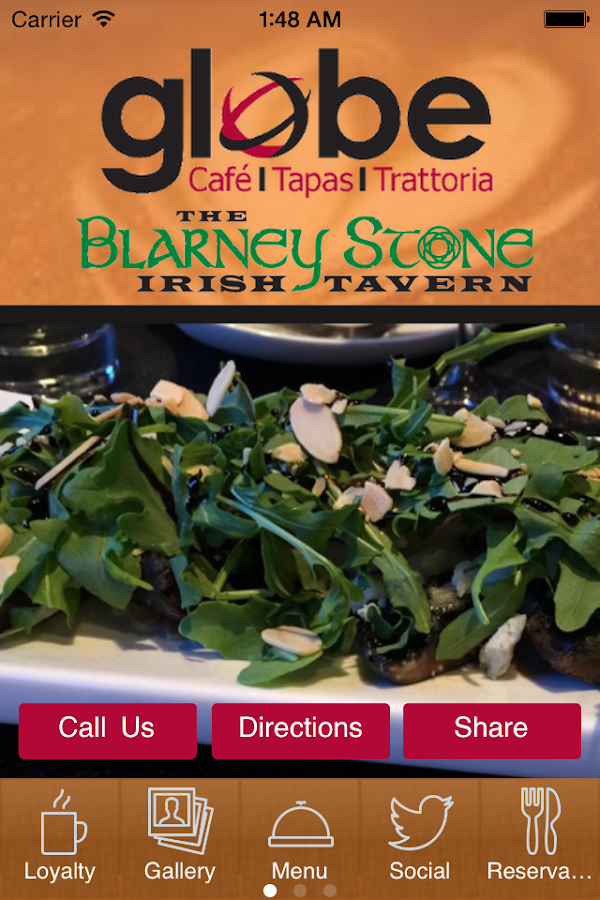 Globe Cafe & Blarney Stone- screenshot