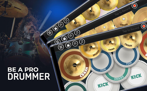 Drum Kit Simulator: Real Drum Kit Beat Maker 2.2.6 screenshots 12