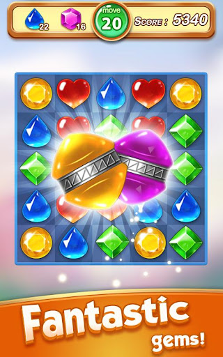 Jewel & Gem Blast - Match 3 Puzzle Game apktram screenshots 12