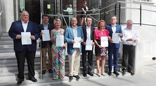 Diputado y senadores almerienses elegidos en junio de 2016. La voz