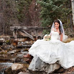 by Melissa Papaj - Wedding Bride ( sundance wedding, resort weddings, sundance ski resort, mountain weddings, sundance wedding photographer, december wedding, winter weddings, utah wedding photographer, destination weddings,  )