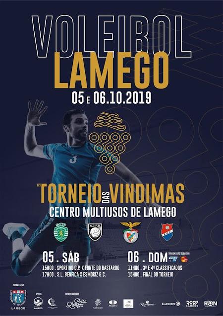 Torneio das Vindimas atrai a Lamego o melhor voleibol nacional
