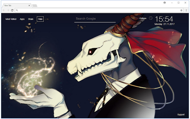 The Ancient Magus Bride Hd Wallpaper Themes Free Addons