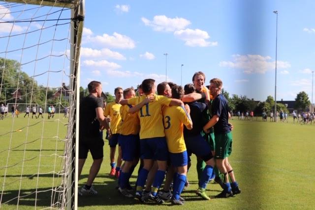 Hulsel-doelman Van Limpt pakt beslissende penalty