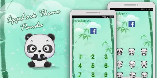 熊貓鎖屏主題