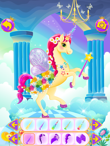 Unicorn Dress Up - Girls Games 1.0.4 screenshots 8