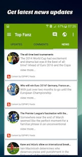 Top Fanz Social Soccer- screenshot thumbnail