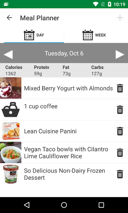 Meal Planner and Food Manager- screenshot