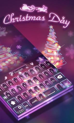 Christmas Day GOKeyboard Theme