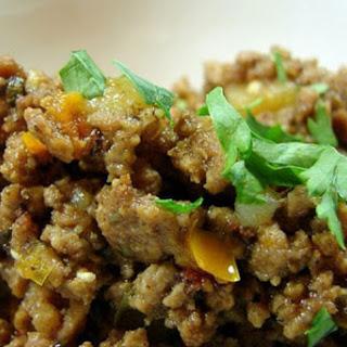 Picadillo a La Mexicana (Ground Beef Mexican Style) Recipe
